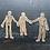 Thumbnail: Stickerset | Stickerflakes  Kraftpapier | anatomische Typen