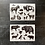 Thumbnail: Stickerset | Ein Tag im Wildpark | Wildtiere
