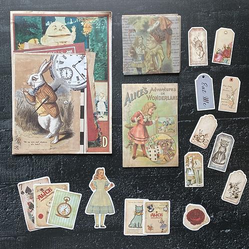 Fremdgebibert   Journalingkit Alice im Wunderland   93 Teile