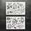 Thumbnail: Stickerset | Pflanzen und Insekten | Sybilla Merian |