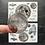 Thumbnail: Stickerset   Carpe Noctum   Nacht   Mond   Moon