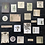 Thumbnail: Vintage Journalingsticker   Farne   Fremdgebibert   20 Stück