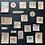 Thumbnail: Vintage Journalingsticker   Herbst   Fremdgebibert   20 Stück
