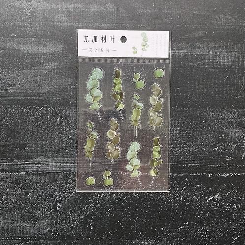 Fremdgebibert | Stickersheet Eukalyptus | 1 Sheet
