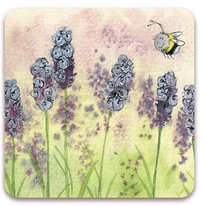 Bee & Lavender Alex Clark Fridge Magnet