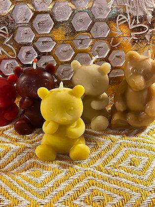 100% Beeswax Candles - Bear Cool Bear!
