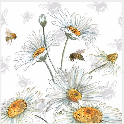 Daisy - Bee-tannicals Greeting Card by Sarah Boddy
