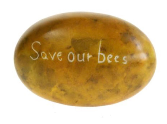 Save our Bees 🐝 Sentiment Pebbles
