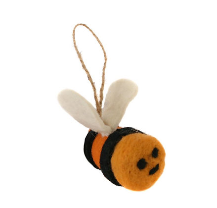 Funky Felt Hanging Bee