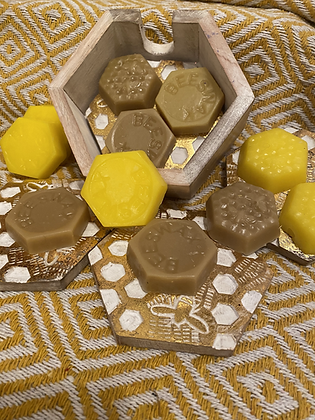 100% Beeswax Moulds - 30g