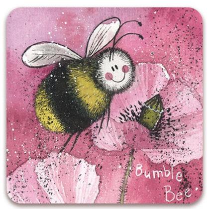 Barbara The Bee - Alex Clark Fridge Magnet