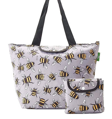 Eco Chic - Large Grey Bumble Cool Bag