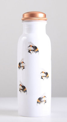 Busy Bees - Copper Water Bottle