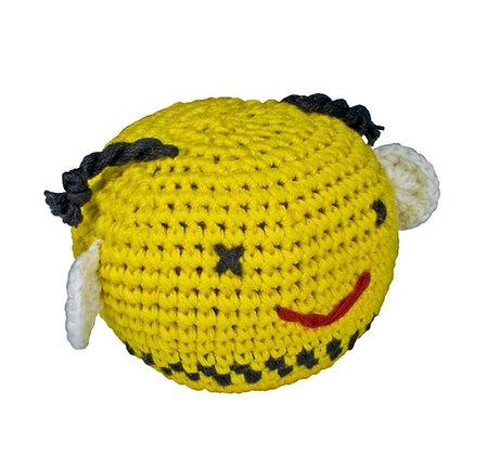 Hand crochet Bee