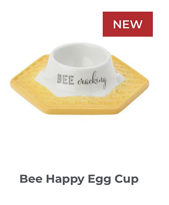 Bee Happy Egg Cup