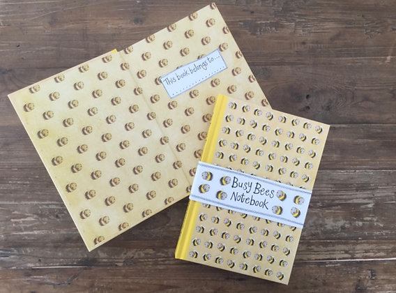 Busy Bees small Hardback Journal