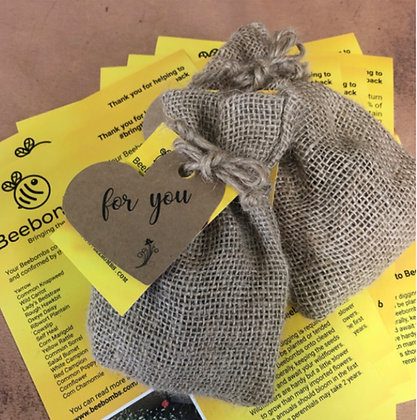 BeeBombs with For You Gift Tag