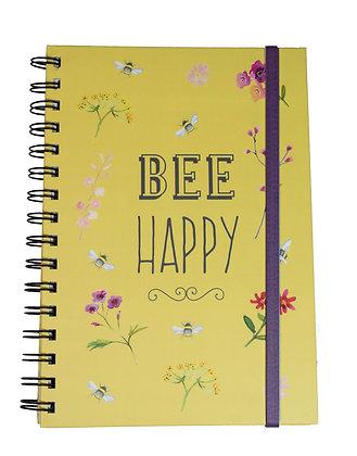 Bee Happy Notebook