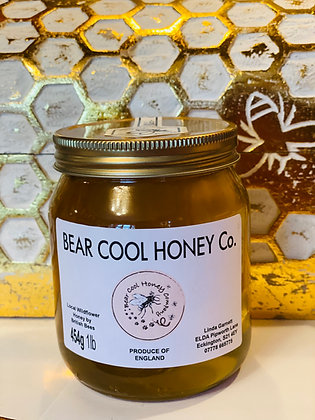454g - 1lb  Jar of Honey