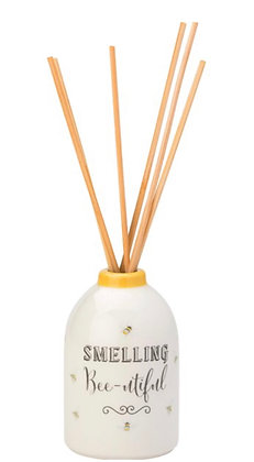 Bee Happy Reed Diffuser Set