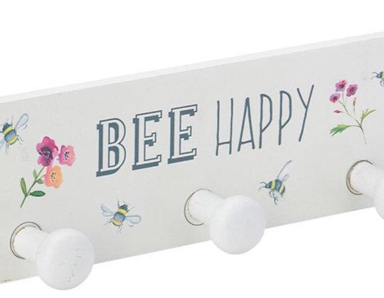 Bee Happy Tea Towel Holder