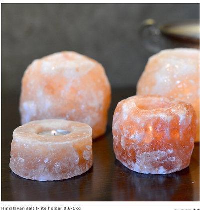 Himalayan salt t-lite holder 0.6-1kg