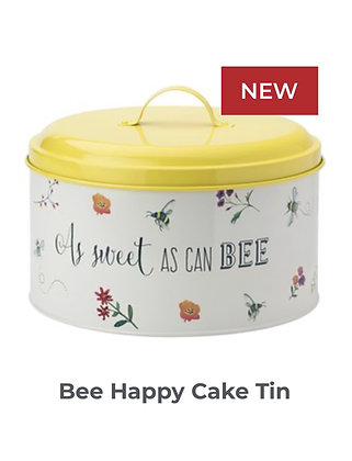 Bee Happy Cake Tin
