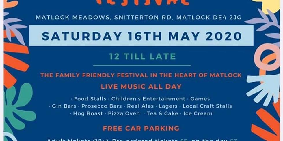 Matlock Calling Festival - 16th May 2020 - Postponed!!