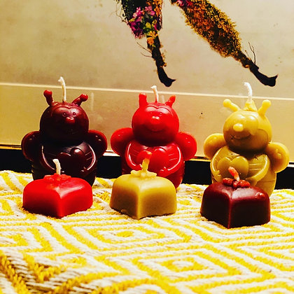 100% Beeswax Candles - Belinda The Bee!
