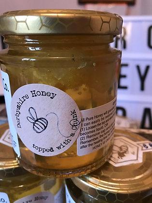 198g -7oz  Jar of Chunk Honey
