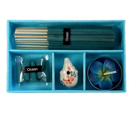Elephant Incense set 8.5x13.5cm