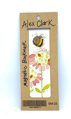 Alex Clark Bee & Flower Magnetic Bookmark