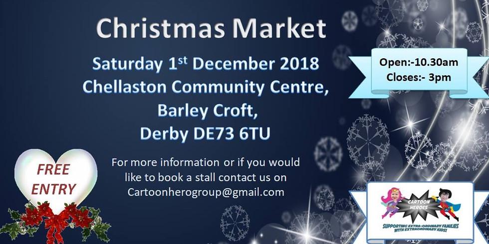 Cartoon Hero Christmas Market - Derby