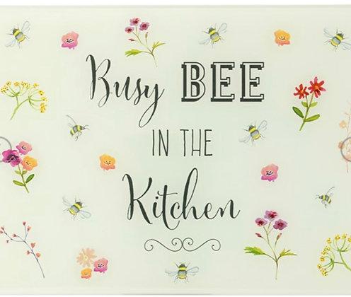 Bee Happy Glass Worktop Saver