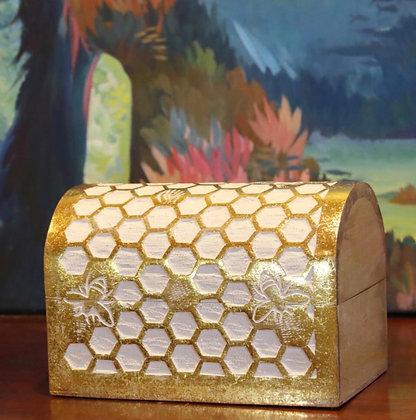Trunk Box - stunning honeycomb design