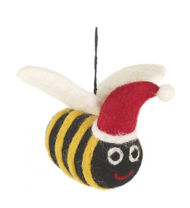 FeltSoGood - Christmas Bumble Bee