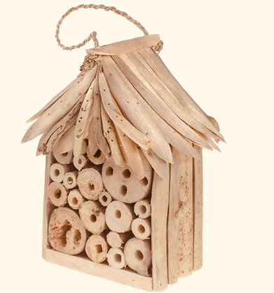 Bee/Bug House with Driftwood Roof & Sides