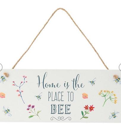 Bee Happy Home Wall Plaque