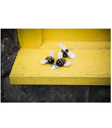 FeltSoGood - Bee Hair Clip