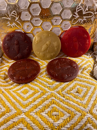 100% Beeswax Moulds - 15g