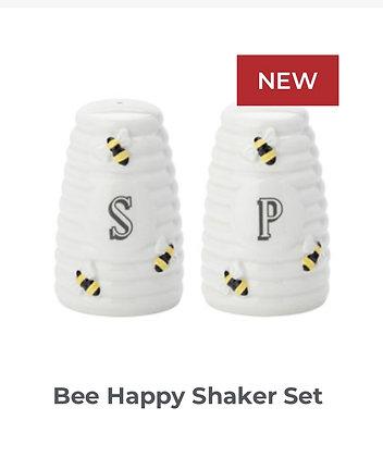 Bee Happy Shaker Set