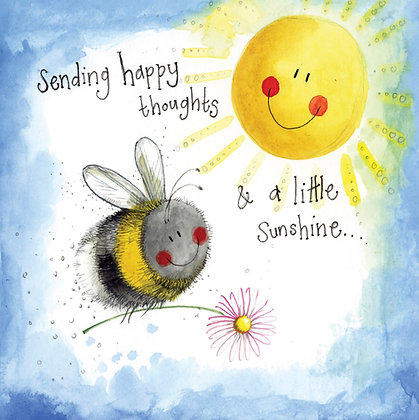 Sunshine Thoughts Bee Thinking of You