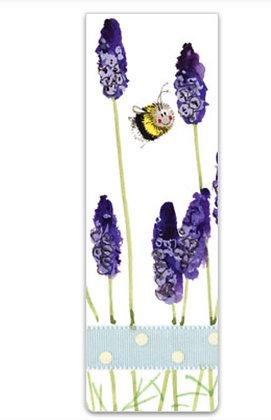 Alex Clark Bee & Lavender  Magnetic Bookmark
