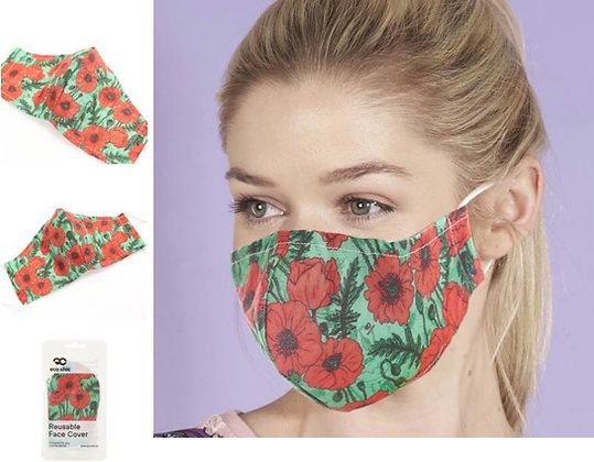 Eco Chic - Poppy Face Mask