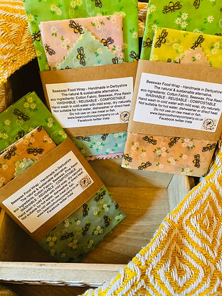 The Kitchen Pack - Beeswax Food Wraps