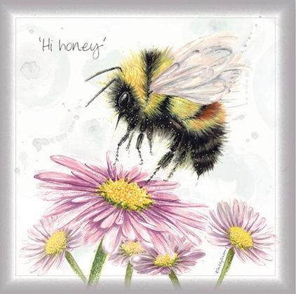 Hi Honey - Greeting Card
