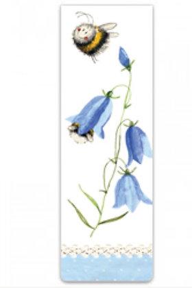 Alex Clark Bee & Harebells Magnetic Bookmark