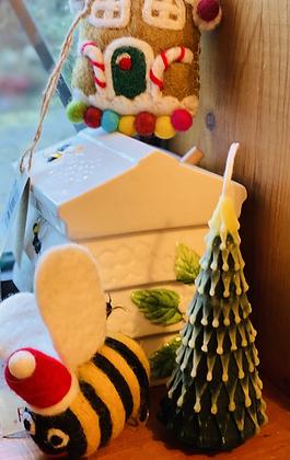 100% Beeswax Candles - Christmas Tree