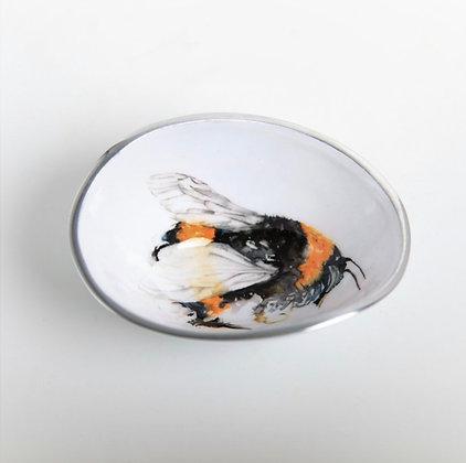 Bee Oval Bowl Petite