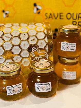227g -8oz  Jar of Ginger Honey